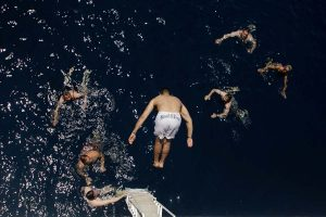 swimming-greece
